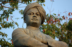 Statue de Vivekananda de Swami, Mumbai Photographie stock