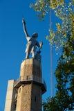 Statue de Vulcan images libres de droits