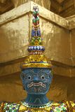 Statue de Wat Phra Kaew à Bangkok, Thaïlande, Asie Photo libre de droits