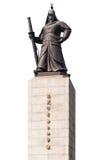 Statue de Yi Sun Sin Séoul Photographie stock libre de droits