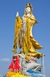 Statue de yin de Kuan Photos libres de droits