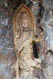Statue de yin de Guan photo libre de droits