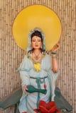 Statue de yin de Guan images libres de droits