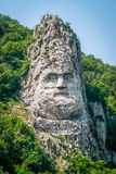 Statue of Decebalus Stock Image