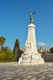Statue dedicated to the city of Nice Royalty Free Stock Photography