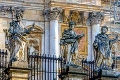 Statue degli apostoli Fotografia Stock Libera da Diritti