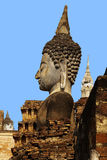 Statue of a deity in historical park Sukhothai. Stock Photos