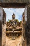 Statue del Buddha della Tailandia Fotografia Stock Libera da Diritti