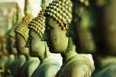 Statue del Buddha, isola di Sima Malaka, Colombo Fotografie Stock Libere da Diritti