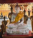 Statue del Buddha in Wat Phrathat Doi Suthep Fotografia Stock