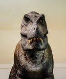Statue del dinosauro immagine stock libera da diritti