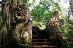 Statue del drago fotografia stock libera da diritti