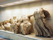 Statue del greco antico fotografia stock
