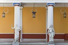 Statue del greco antico fotografia stock libera da diritti