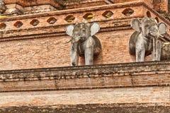 Statue dell'elefante Fotografie Stock
