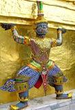 Statue of demon, Bangkok Royalty Free Stock Photography