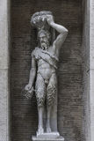 Statue of a Demon at Capitoline, Rome, Italy Stock Image