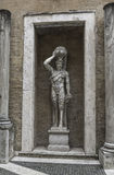 Statue of a Demon at Capitoline, Rome, Italy Stock Photos