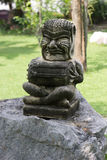 Statue of a demon drum. In thailand Stock Image