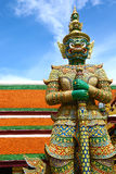 Statue of demon in Grand Palace, Bangkok Royalty Free Stock Photography