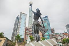 Statue in der Allee von Sternen in Hong Kong Lizenzfreie Stockfotografie