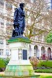 Statue in der alten Stadt von London Lizenzfreie Stockbilder