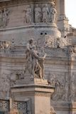 Statue der Harmonie, Altare-della Patria, Rom Stockfoto