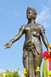 Statue der Königin Jamatavee Lizenzfreies Stockfoto