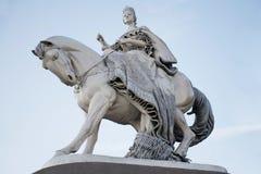 Statue der Königin Maria Theresa in Bratislava stockfotografie