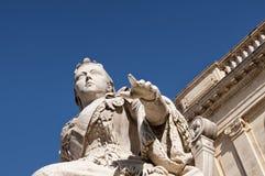 Statue der Königin-Victoria Stockbilder