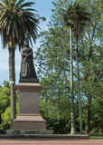 Statue der Königin Victoria in Albert Park, Auckland Stockbilder