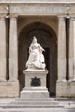 Statue der Königin Victoria in Malta lizenzfreies stockfoto