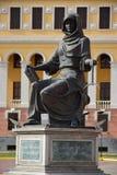 Statue der Kasache FEMIDA in Astana, Kasachstan Stockbild