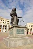 Statue der Kasache FEMIDA in Astana, Kasachstan Lizenzfreie Stockfotografie