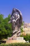 Statue der Mutter des Gottes, Msida, Malta Lizenzfreie Stockfotografie