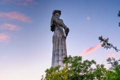 Statue der Mutter Georgia, Kartlis Deda in Tiflis, Georgia Stockfotos