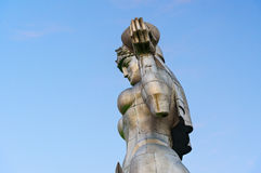 Statue der Mutter Georgia, Kartlis Deda in Tiflis, Georgia Stockbild