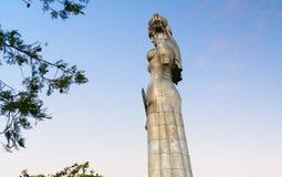 Statue der Mutter Georgia, Kartlis Deda in Tiflis, Georgia Stockbilder