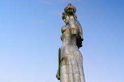 Statue der Mutter Georgia, Kartlis Deda in Tiflis, Georgia Lizenzfreies Stockfoto