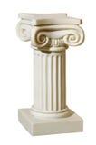 Statue der Spalten in der griechischen Art Stockbilder