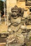 Statue des Affe-Schutzes Lizenzfreies Stockbild