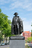 Statue des allgemeinen fon Stauben Stockfoto