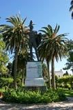 Statue des altgriechischen Kriegers Achilleus Lizenzfreie Stockfotografie