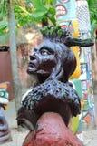 Statue des amerikanischen Ureinwohners Lizenzfreies Stockfoto