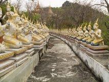 Statue des anges dans le temple Photo libre de droits