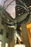 Statue des Atlasses in New York City stockfoto