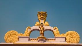 Statue des Babys Buddha lizenzfreies stockbild