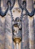 Statue des Bischofs Stockfotografie