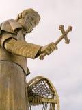 Statue des Bishop Baraga Lizenzfreies Stockfoto