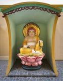 Statue des buddhistischen Mönchs Stockbilder